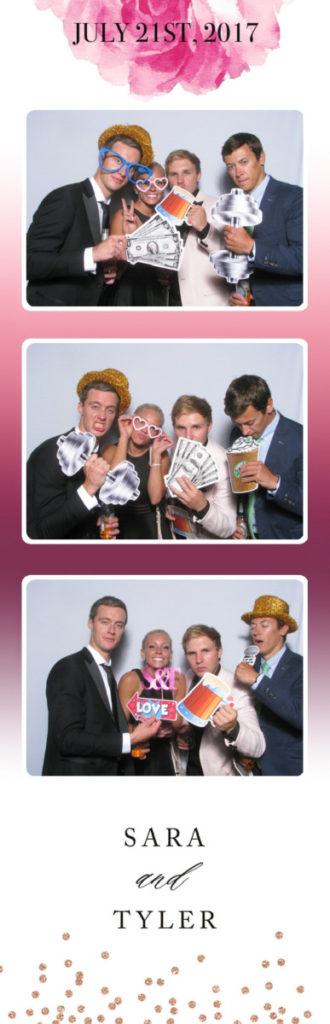 Aria Minneapolis Wedding Venue, Minnesota Photo Booth Strip