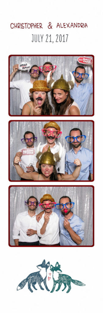 Minnesota Photo Booth at Bloom Lake Barn Wedding, Planning by Blush + Whim