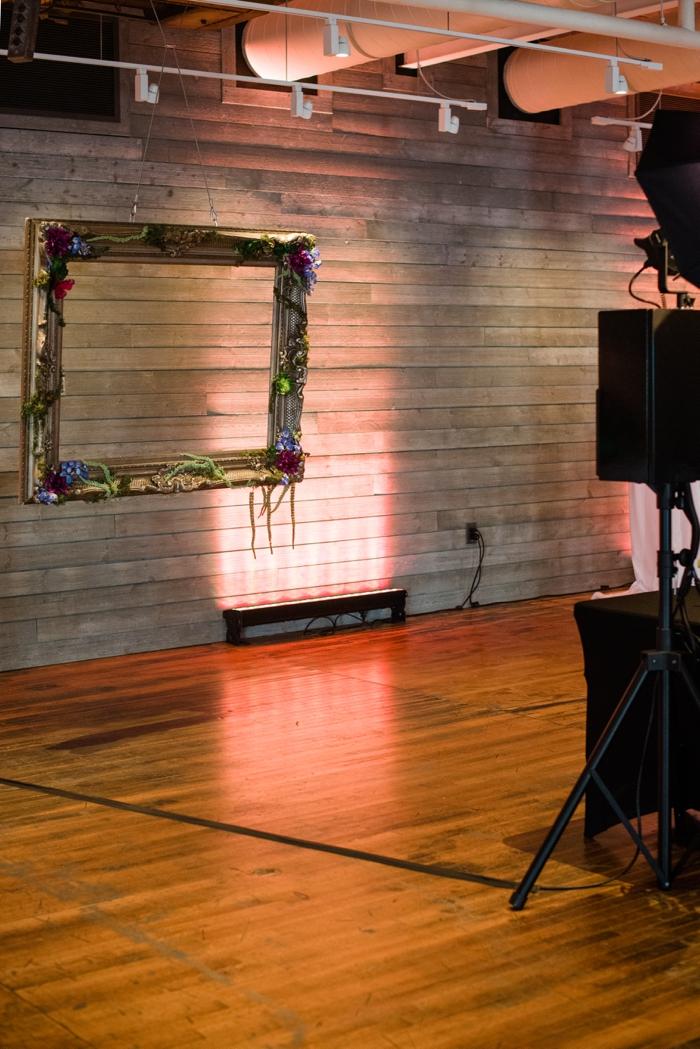 Photoboth set-up at Machine Shop Mpls Enticing Entertainment Showcase