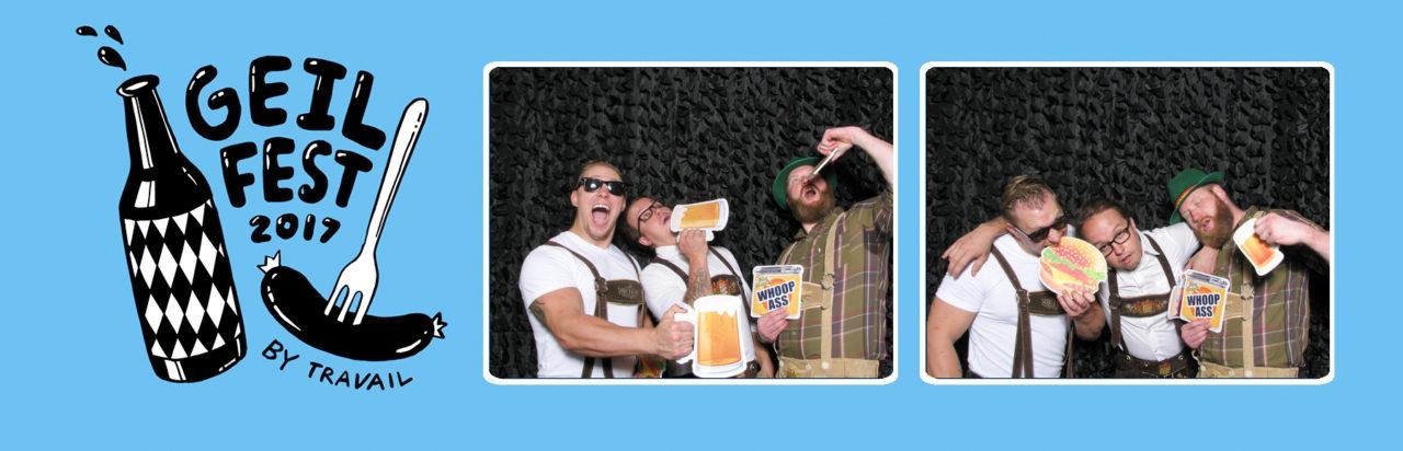 MN Octoberfest event, horizontal photo strip