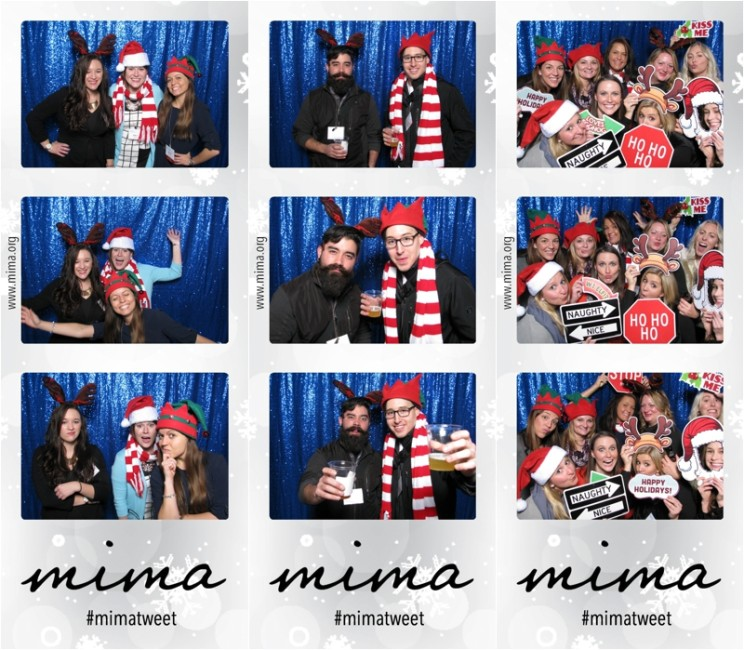 Photo Booth Rental Minneapolis | Corporate Christmas Party