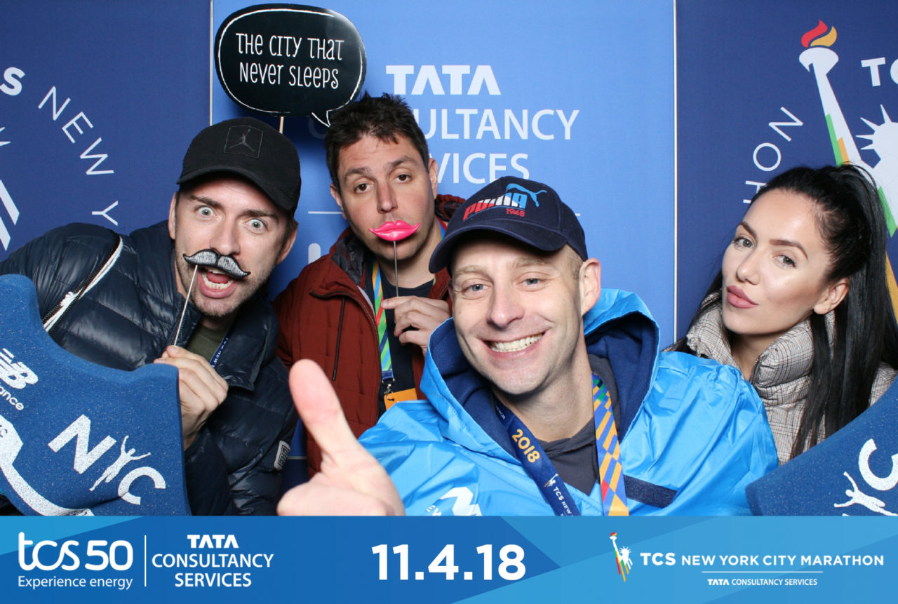 new york marathon photo strip design