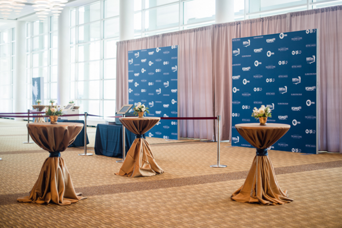 Live photography printers with backdrops at the Rochester Civic Center