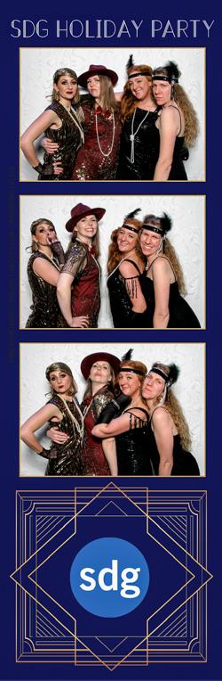 Four women posing for photos