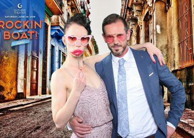 A couple in sunglasses