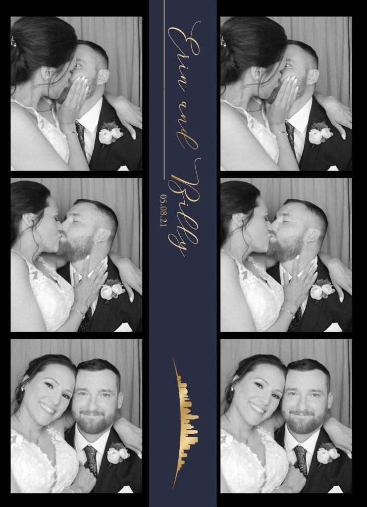 Traditional photo booth strip